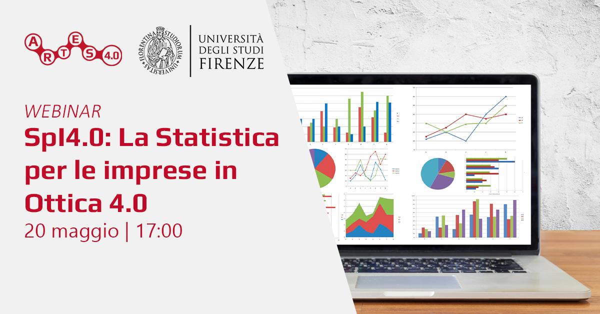 Webinar Corso di Formazione Spl4.0 Statistica per le Imprese in Ottica 4.0
