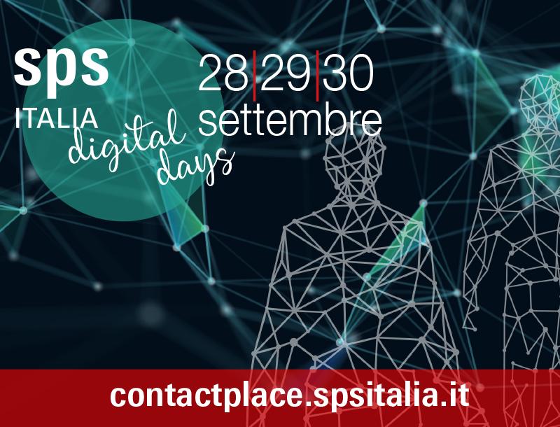 28-30 settembre - SPS Digital Days